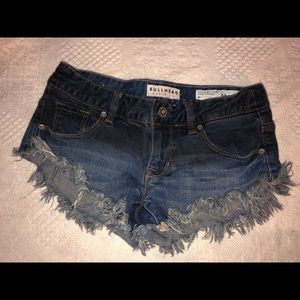 Bullhead Frayed Jean Shorts sz 0